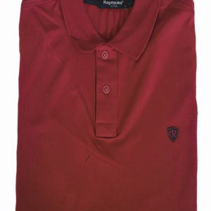 100% Cotton Burgundy Polo T-SHirt  KES 2500