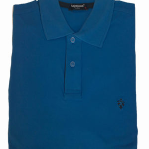 100% Cotton Cobalt Blue Polo T-Shirt by Raymon KES 2500