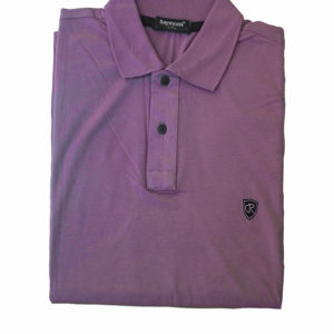 100% Cotton Lavender Polo T-Shirt by Raymons KES 2500