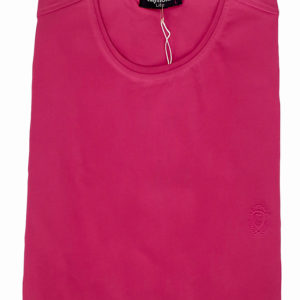 100% Cotton Pink Muscle Fit Round Neck T-Shirt by Raymon KES 2000