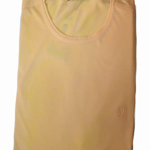 100% Cotton Yellow Muscle Fit Round Neck T-Shirt by Raymons KES 2000