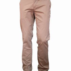 Beige Stretch Khaki Trouser by Vaturi 1