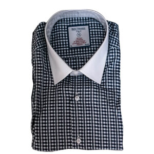 Blue and White Dee Shirt by Mario Franseco Size S-1 M-1 L-2 XL-2 XXL-1 KES 2,500